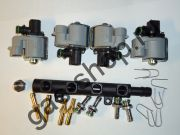 Рампа форсунок RAIL IG5 на 4 цилиндра 2ом